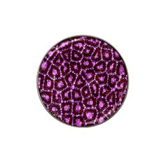 Cheetah Bling Abstract Pattern  Golf Ball Marker (for Hat Clip)