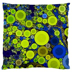 Polka Dot Retro Pattern Standard Flano Cushion Case (Two Sides)