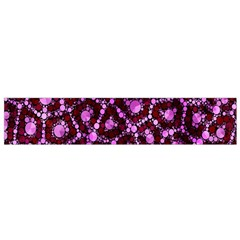 Cheetah Bling Abstract Pattern  Flano Scarf (small)