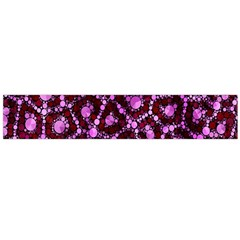 Cheetah Bling Abstract Pattern  Flano Scarf (Large)