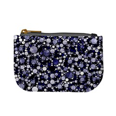 Lavender Cheetah Bling Abstract  Coin Change Purse