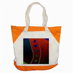 Funky Florescent Sassy Lips  Accent Tote Bag