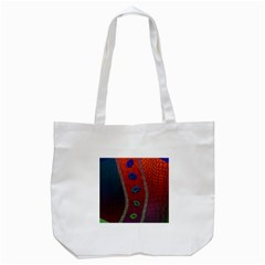 Funky Florescent Sassy Lips  Tote Bag (white)