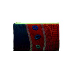 Funky Florescent Sassy Lips  Cosmetic Bag (XS)