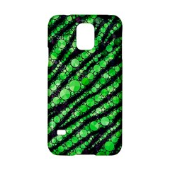 Florescent Green Tiger Bling Pattern  Samsung Galaxy S5 Hardshell Case