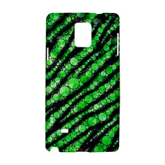 Florescent Green Tiger Bling Pattern  Samsung Galaxy Note 4 Hardshell Case
