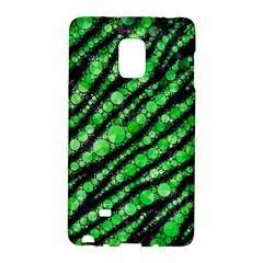 Florescent Green Tiger Bling Pattern  Samsung Galaxy Note Edge Hardshell Case
