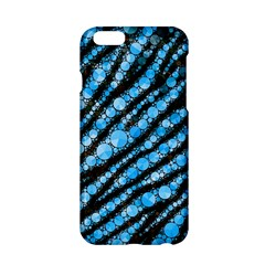 Bright Blue Tiger Bling Pattern  Apple iPhone 6 Hardshell Case