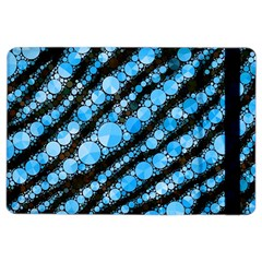 Bright Blue Tiger Bling Pattern  Apple Ipad Air 2 Flip Case