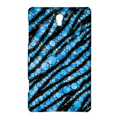 Bright Blue Tiger Bling Pattern  Samsung Galaxy Tab S (8.4 ) Hardshell Case