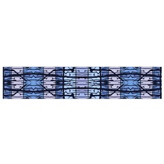 Tribal Geometric Print Flano Scarf (Small)