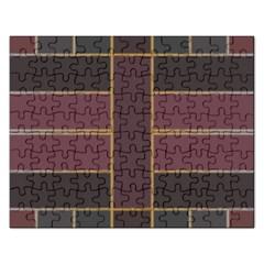 Vertical And Horizontal Rectangles Jigsaw Puzzle (rectangular)