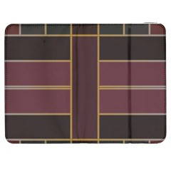 Vertical And Horizontal Rectangles Samsung Galaxy Tab 7  P1000 Flip Case