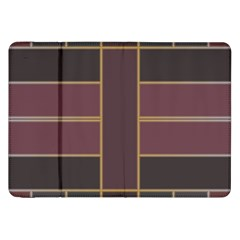 Vertical And Horizontal Rectangles Samsung Galaxy Tab 8 9  P7300 Flip Case