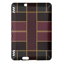 Vertical and horizontal rectangles Kindle Fire HDX Hardshell Case