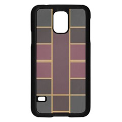 Vertical And Horizontal Rectanglessamsung Galaxy S5 Case