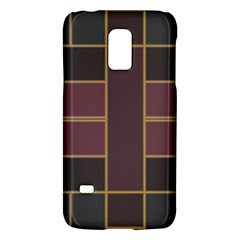 Vertical and horizontal rectanglesSamsung Galaxy S5 Mini Hardshell Case