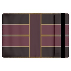 Vertical and horizontal rectangles	Apple iPad Air Flip Case
