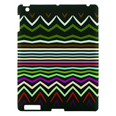 Chevrons And Distorted Stripes Apple Ipad 3/4 Hardshell Case