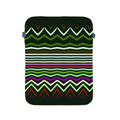 Chevrons And Distorted Stripes Apple Ipad 2/3/4 Protective Soft Case