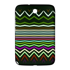 Chevrons And Distorted Stripes Samsung Galaxy Note 8 0 N5100 Hardshell Case