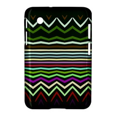 Chevrons And Distorted Stripes Samsung Galaxy Tab 2 (7 ) P3100 Hardshell Case