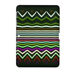 Chevrons and distorted stripes Samsung Galaxy Tab 2 (10.1 ) P5100 Hardshell Case