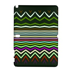 Chevrons And Distorted Stripes Samsung Galaxy Note 10 1 (p600) Hardshell Case