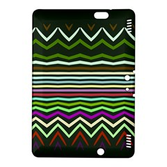 Chevrons And Distorted Stripes Kindle Fire Hdx 8 9  Hardshell Case