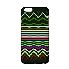 Chevrons And Distorted Stripes Apple Iphone 6 Hardshell Case