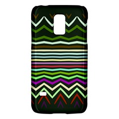 Chevrons and distorted stripesSamsung Galaxy S5 Mini Hardshell Case