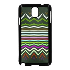 Chevrons And Distorted Stripes Samsung Galaxy Note 3 Neo Hardshell Case