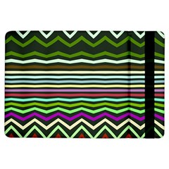 Chevrons and distorted stripes	Apple iPad Air Flip Case