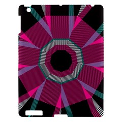 Striped Hole Apple Ipad 3/4 Hardshell Case