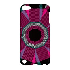 Striped Hole Apple Ipod Touch 5 Hardshell Case