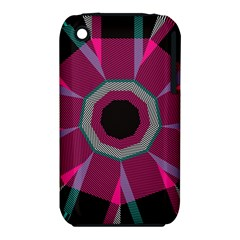 Striped hole Apple iPhone 3G/3GS Hardshell Case (PC+Silicone)