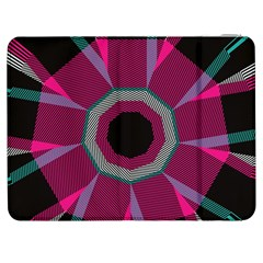 Striped hole Samsung Galaxy Tab 7  P1000 Flip Case