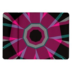 Striped Hole Samsung Galaxy Tab 10 1  P7500 Flip Case