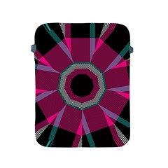 Striped Hole Apple Ipad 2/3/4 Protective Soft Case
