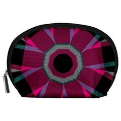 Striped hole Accessory Pouch