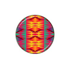 Colorful Tribal Texture Hat Clip Ball Marker