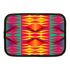 Colorful Tribal Texture Netbook Case (medium)