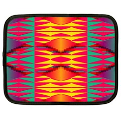 Colorful Tribal Texture Netbook Case (xxl)