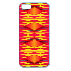 Colorful Tribal Texture Apple Seamless Iphone 5 Case (color)