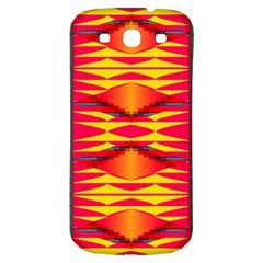 Colorful Tribal Texture Samsung Galaxy S3 S Iii Classic Hardshell Back Case