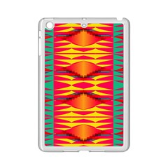 Colorful Tribal Texture Apple Ipad Mini 2 Case (white)