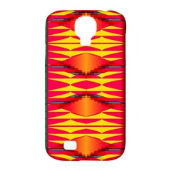 Colorful Tribal Texture Samsung Galaxy S4 Classic Hardshell Case (pc+silicone)