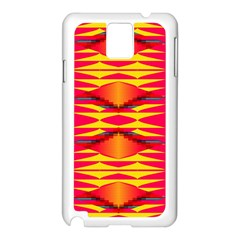 Colorful Tribal Texture Samsung Galaxy Note 3 N9005 Case (white)