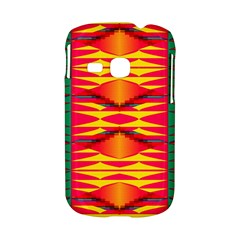 Colorful tribal texture Samsung Galaxy S6310 Hardshell Case