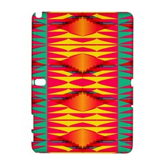 Colorful Tribal Texture Samsung Galaxy Note 10 1 (p600) Hardshell Case